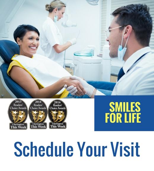 new patient dental office visit