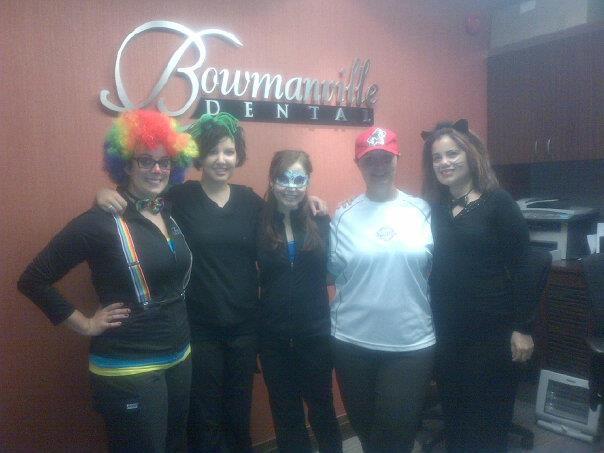 Bowmanville Dental celebrates Halloween 2012