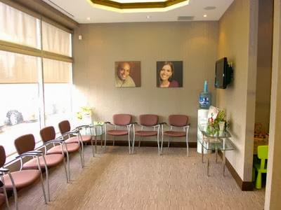 bow dental waiting room