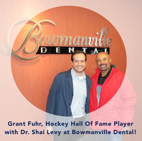 Grant Fuhr and Dr. Shai Levy copy