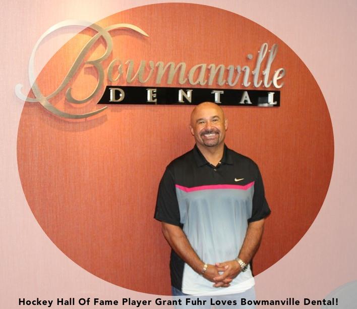 Grant Fuhr loves Bowmanville Dental