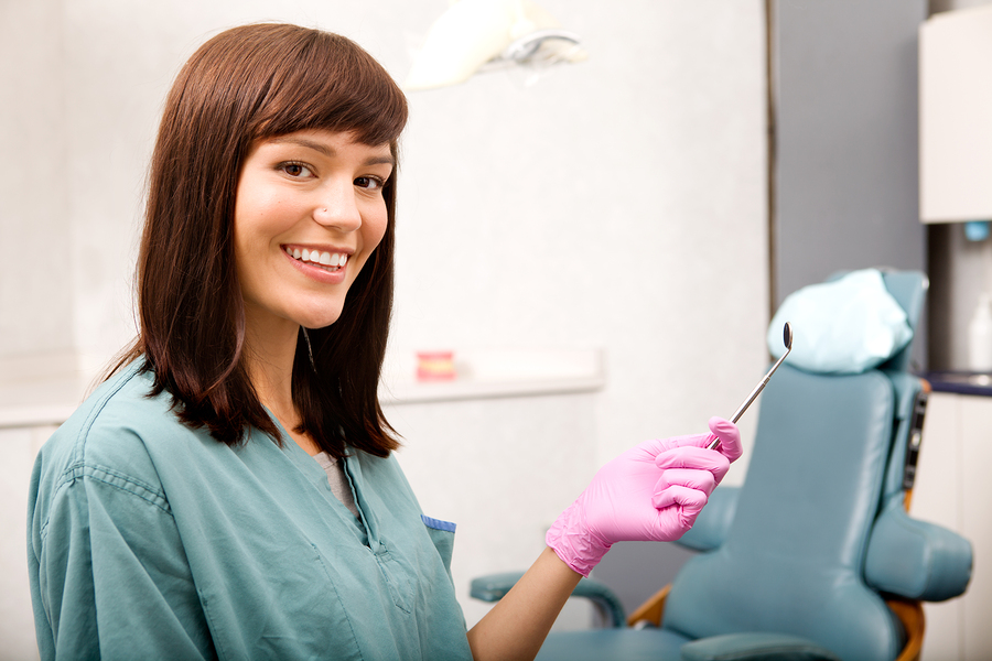 dental hygienist portrait