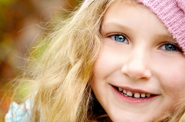 child in need of braces and frenectomy